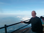 Jim at Station 8 (~3300 m) Mount Fuji